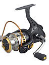 Fishing Reel Spinning Reels 2.6:1 13 Ball Bearings Exchangable General Fishing-DF4000