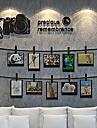 Геометрия Наклейки Простые наклейки Декоративные наклейки на стены,Винил материал Украшение дома Наклейка на стену