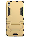 Pour Avec Support Coque Coque Arriere Coque Armure Dur Polycarbonate pour Sony Sony Xperia X Sony Xperia XA Sony Xperia E5