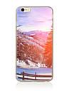 용 패턴 케이스 뒷면 커버 케이스 풍경 소프트 TPU 용 Apple 아이폰 7 플러스 아이폰 (7) iPhone 6s Plus/6 Plus iPhone 6s/6 iPhone SE/5s/5 iPhone 4s/4