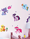 Animaux Bande dessinee Stickers muraux Autocollants avion Autocollants muraux decoratifs,Papier Vinyle Materiel AmovibleDecoration