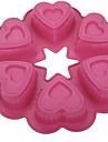 Moule de Cuisson Coeur Pour Gateau Pour pain Pour Cookie Silikon Haute qualite Mariage Anniversaire La Saint Valentin Action de graces