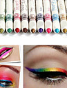 12Pcs/Lot  12 Color Eyeliner Pencil Eye Shadow Pen Eye Liner Lip Liner Eye Shadow Pencil Pen Waterproof