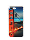 For Pattern Case Back Cover Case City View Scenery Soft TPU for Apple iPhone 7 Plus iPhone 7 iPhone 6s Plus/6 Plus iPhone 6s/6