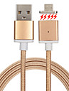 Cwxuan® Micro USB Metal Magnetic Adhesion Data Sync Charging Cable for Samsung Huawei and Other Android Smart Phones
