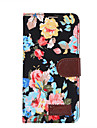 For Huawei P8 Mate 7 G6 Case Cover Flowers PU Leather Mobile Phone Holster