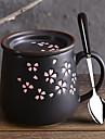 цветной Стаканы, 400 ml Украшение Керамика Телесный Молоко Чайные чашки