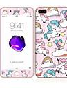 pour apple iphone 7 plus 5,5 verre trempe avec bord doux couverture complete de l\'ecran avant et arriere protecteur d\'ecran motif de