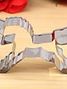 единорог резак форма печенья, л 8.4cm XW 5.7cm хк 2 см, нержавеющая сталь