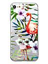 For UltraThin Transparent Case Back Cover Case Banana Flamingo Soft TPU for iPhone 7 Plus 7 6s Plus 6 Plus 6s 6 SE 5S 5