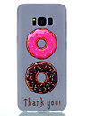 For Samsung Galaxy S8 Plus S8 TPU Material Two-Color Donuts Pattern Luminous Phone Case S7 Edge S7 S6 Edge Plus S6 S5 S4 Mini S4 S3