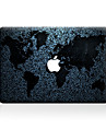 For MacBook Air 11 13/Pro13 15/Pro with Retina13 15/MacBook12  World Map Decorative Skin Sticker