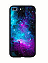 Para iPhone X iPhone 8 Case Tampa Estampada Capa Traseira Capinha ceu Cenario Rigida Acrilico para Apple iPhone X iPhone 8 Plus iPhone 8
