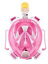 Diving Masks Snorkel Mask Anti-Fog Full Face Masks Dry Top Diving / Snorkeling silicone