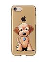 Pour Transparente Motif Coque Coque Arriere Coque Chien Flexible PUT pour AppleiPhone 7 Plus iPhone 7 iPhone 6s Plus/6 Plus iPhone 6s/6