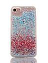 Pour Liquide Transparente Coque Coque Arriere Coque Brillant Dur Polycarbonate pour AppleiPhone 7 Plus iPhone 7 iPhone 6s Plus iPhone 6
