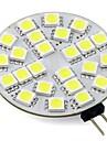 4W G4 Двухштырьковые LED лампы T 24 SMD 5050 350 lm Тёплый белый Холодный белый V 1 шт.