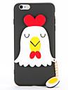 Para Faca Voce Mesmo Capinha Capa Traseira Capinha Desenho 3D Macia TPU para AppleiPhone 7 Plus iPhone 7 iPhone 6s Plus iPhone 6 Plus