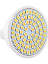 7W GU5.3(MR16) Точечное LED освещение MR16 72 SMD 2835 500-700 lm Тёплый белый Холодный белый Естественный белый Декоративная V 1 шт.