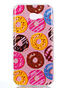 For Samsung Galaxy A3(2017) A5(2017) Double IMD Case Back Cover Case Doughnut pattern Soft TPU A7(2017)