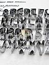 выпечке Mold Буквы Для получения хлеба Для Cookie Нержавеющая сталь Высокое качество Антипригарное покрытие Экологичность