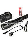 LED Flashlights/Torch Handheld Flashlights/Torch LED 1000 Lumens 5 Mode Cree XM-L T6 18650 Waterproof Multifunction Aluminum alloy