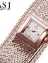 Women\'s Fashion Dress Watch Japanese Quartz Metal Band Elegant Silver Gold Rose Gold Bracelet Watch