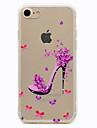 Pour Transparente Motif Coque Coque Arriere Coque Femme Sexy Flexible PUT pour Apple iPhone 7 Plus iPhone 7