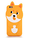 Para Case Tampa Estampada Capa Traseira Capinha Desenho 3D Macia Silicone para AppleiPhone 7 Plus iPhone 7 iPhone 6s Plus iPhone 6 Plus