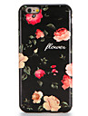 For Apple iPhone 7 7Plus Case Cover Pattern Back Cover Case  Flower Soft TPU 6s Plus 6 Plus 6s 6
