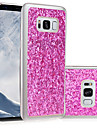 Pour samsung galaxy s8 plus s8 housse de protection imd diy back cover glitter shine soft tpu s5 s4