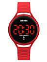 SKMEI Детские Спортивные часы Модные часы Наручные часы электронные часы Японский Цифровой LED Сенсорный дисплей Защита от влаги