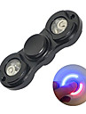 Fidget Spinner Hand Spinner Toys Two Spinner Metal EDCLED light Stress and Anxiety Relief Office Desk Toys Relieves ADD, ADHD, Anxiety,