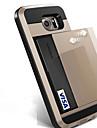 Pour samsung galaxy s8 plus caisse de telephone s8 slide carte de credit couverture de porte-monnaie pour samsung galaxy s7 bord s7 s6