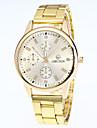 Men\'s Fashion Watch Wrist watch Quartz Alloy Band Casual Black White Gold