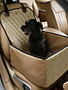 Cat Dog Car Seat Cover Pet Mats & Pads Portable Double-Sided Breathable Foldable Random Color