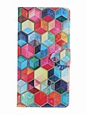 For Apple iPhone 7 Plus 7  6s plus 6plus 5S SE Case Cover Card Holder Wallet with Stand Flip Pattern Full Body Case Geometric Pattern Hard PU Leather