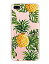 Para iPhone X iPhone 8 Case Tampa Ultra-Fina Capa Traseira Capinha Fruta Macia PUT para Apple iPhone X iPhone 8 Plus iPhone 8 iPhone 7