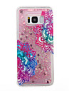 For Samsung Galaxy S8 Plus S8 Phone Case Mandala Pattern Flowing Liquid Glitter Soft TPU Materia S7 edge S7 S6 edge S6 S5