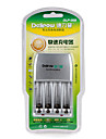Delipow batterie chargeur rapide adapte pour aa / aaa nickel-metal hydrure nickel-chrome batterie rechargeable