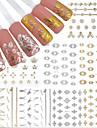 12 Стикер искусства ногтя 3D наклейки на ногти макияж Косметические Ногтевой дизайн