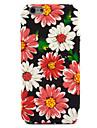 Pour Apple iphone 7 7 plus 6s 6 plus couverture de boitier motif de fleur decalque soin de peau touch pc materiel etui de telephone