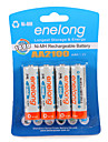 Enelong Ni-Mh Rechargeable Battery Aa2100 mAh1.2V AA Can Be Used 1000 Times