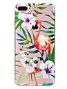 Para apple iphone 7 7 plus 6s 6 mais capa capa padrao de flamingo pintado de alta penetracao material tpu capa macia caso de telefone