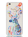 For Huawei P10 P10 Plus Glow In The Dark Translucent Case Back Cover Case Deer Soft TPU P8 Lite (2017) Mate 9 Nova Honor 8 P10 lite P9 lite P8 lite