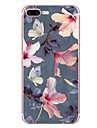 Para maca iphone 7 7 mais 6s 6 mais capa capa padrao de flores hd pintado material tpu maleta caso do telefone