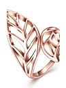 Women\'s Ring JewelryBasic Unique Design Tattoo Style Rhinestone Heart Natural Geometric Friendship Turkish Gothic Double Sided Cute Style