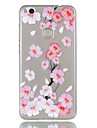 huawei p9 lite p8 lite (2017) 케이스 커버 복숭아 꽃 패턴 릴리프 dijiao tpu 소재 높은 경우 전화 케이스 p8 라이트