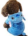 Chien Costume Vetements pour Chien Cosplay Animal Bleu
