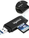 Rocketek USB 3.0 Memory Card Reader and OTG phone card reader 2 Slots Card Reader for SD micro SD SDXC SDHC free shipping CR9